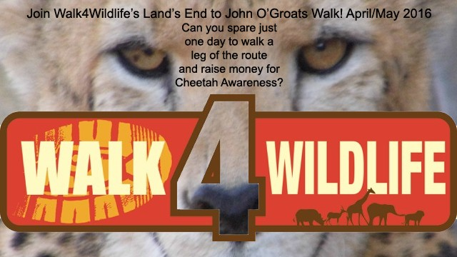 Walk For Wildlife Banner