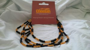 Cheetah Bead Necklace