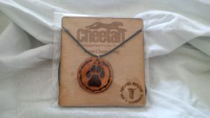 Cheetah Paw Necklace