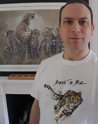 Alex Buxton Cheetah Portrait