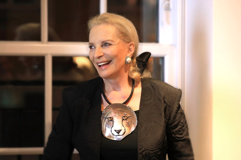 Princess Michael of Kent Cheetahs