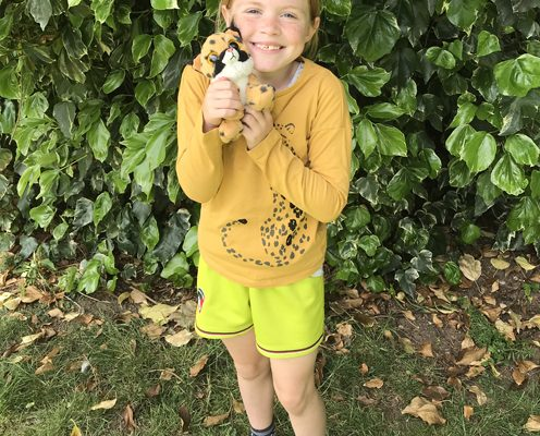 Chloe Harris Cheetah Champion