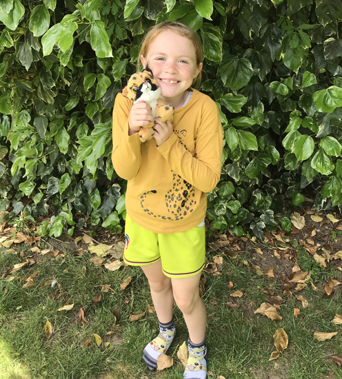 Chloe Harris Cheetah Champion
